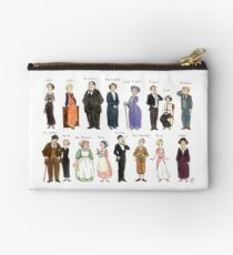 Downton Abbey portraits Studio Pouch