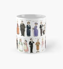 Downton Abbey portraits Mug