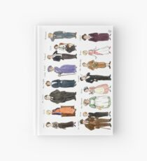 Downton Abbey portraits Hardcover Journal
