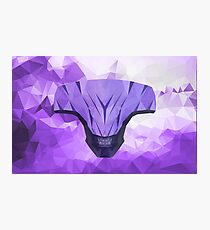 Void Low Poly Art Photographic Print