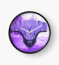 Void Low Poly Art Clock