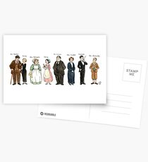 Downton-downstairs Postcards
