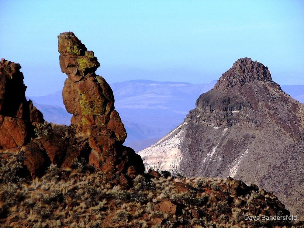 Over Looking Eastern Oregon by Dave Sandersfeld