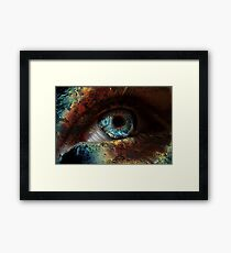 Spooky Eye Framed Print