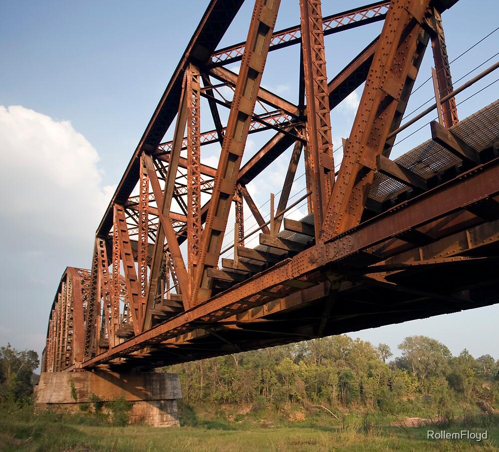 Brazos Bridge by RollemFloyd