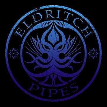 Eldritch Pipes (aged, deep sea) by Deefurdee