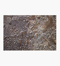 Water Droplet Glass Photographic Print