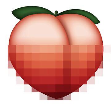 Pixelated Peach by Trecentos