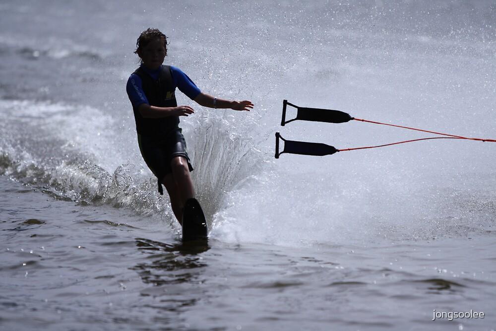 water ski by jongsoolee