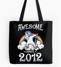 Awesome since 2012 Tote Bag