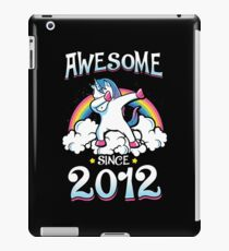 Awesome since 2012 iPad Case/Skin