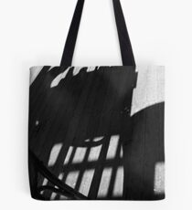 Blue M Cafe - Shadow play Tote Bag