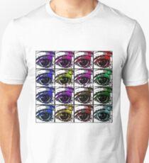 Multi  Pop Evil Eyes Unisex T-Shirt