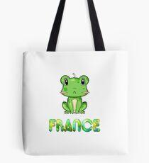 France Frog Tote Bag