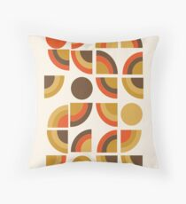 Kosher - retro throwback minimalist 70s abstract 1970s style trend Floor Pillow