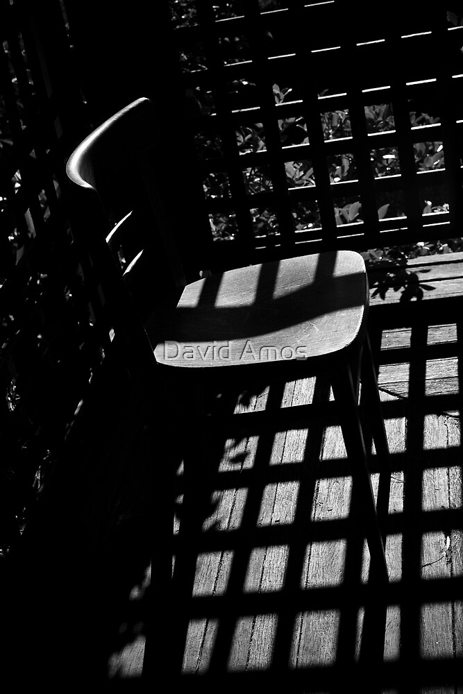 Through The Grate. by David Amos