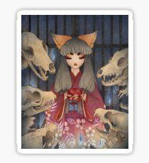 Appeasement - Kitsune Fox Yokai Sticker