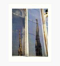 Milano- the Duomo Art Print
