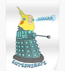 birb exterminate AAAAAAAA Poster