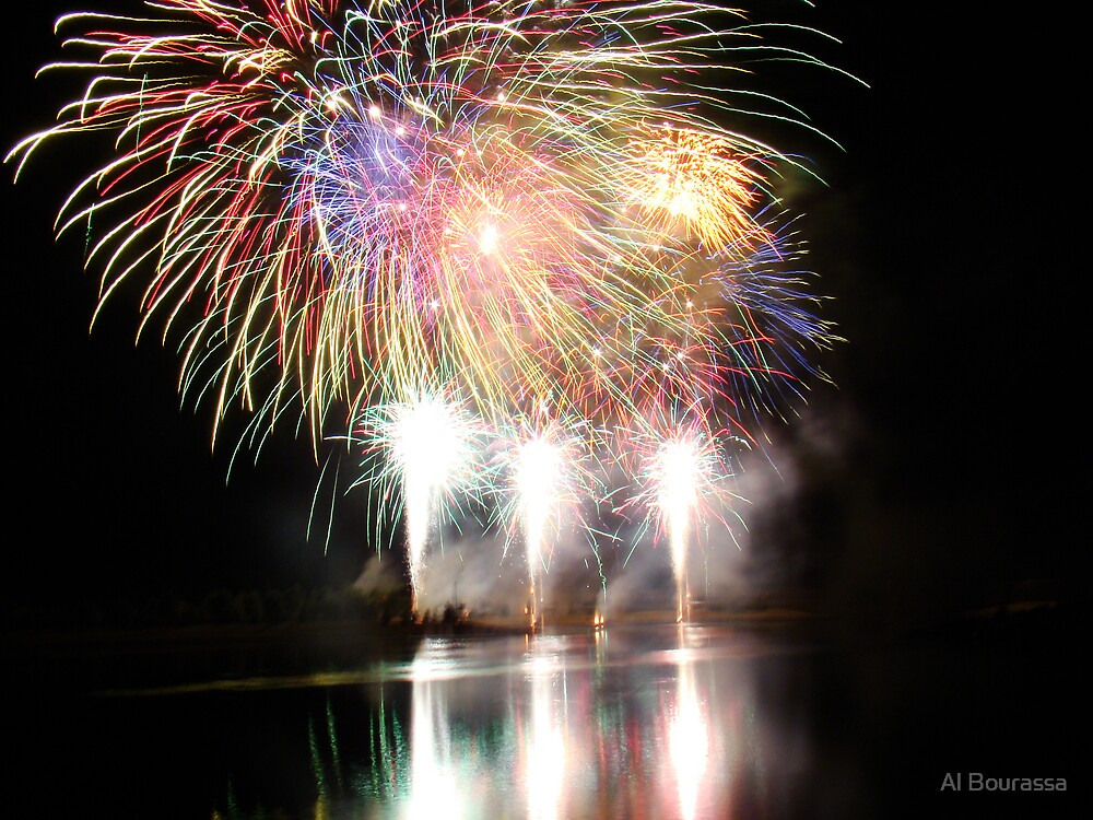 GlobalFest Fireworks IV by Al Bourassa