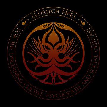 Eldritch Pipes Sigil (hellfire) by Deefurdee
