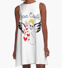 Salt Bae Cupid A-Line Dress