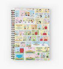Peanuts Comics Spiral Notebook