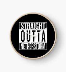 Straight outta Netherstorm Clock
