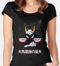 SEIYA NO PEGASUS Women's Fitted Scoop T-Shirt