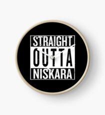 Straight outta Niskara Clock