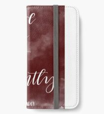 Mr Darcy quote iPhone Wallet/Case/Skin