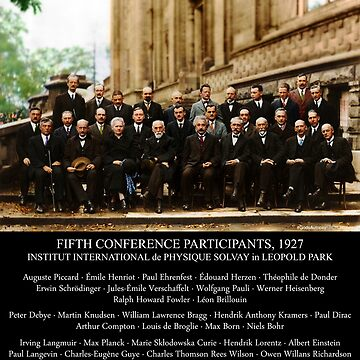 Albert Einstein Solvay Conference 1927 by GodsAutopsy