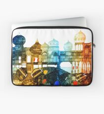 Seaside Turrets and Castles by the Sand Laptop Sleeve