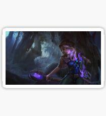 Light Magician Mage Champion Purple Sticker