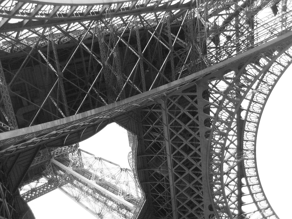 Eiffel Tower II by John Valentan