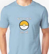 Bitcoin Pokemon Pokeball Unisex T-Shirt