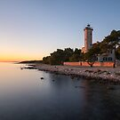 Lighthouse on island Vir by Ivan Coric