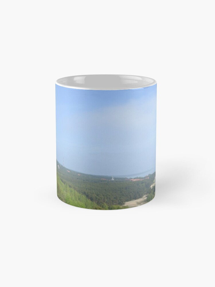 Alternate view of The curonian spit  Mugs