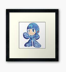 Megaman Chibi Framed Print