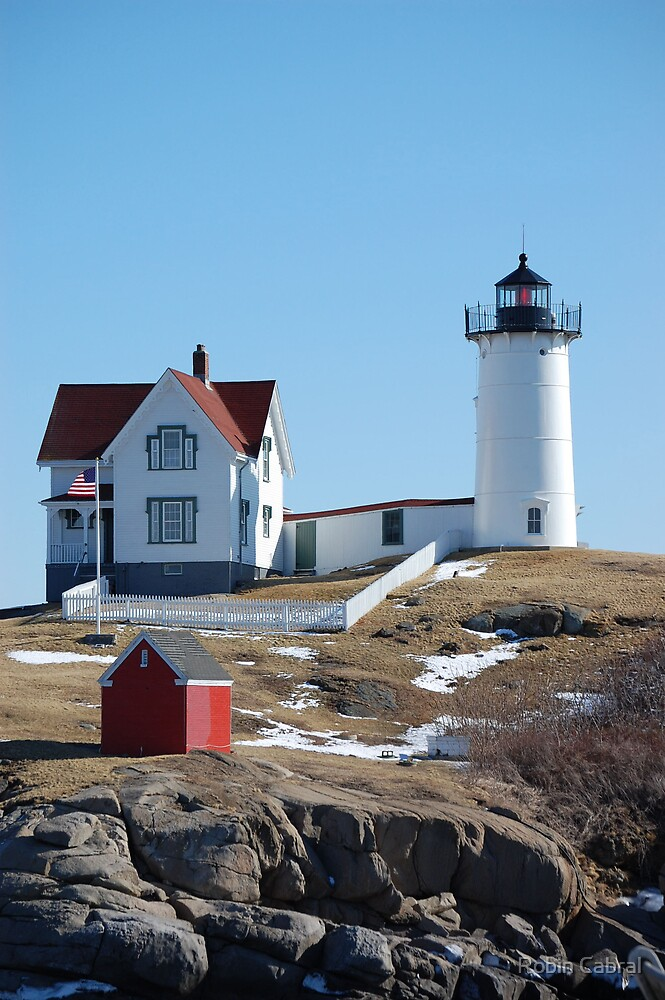 Nubble Light, York, ME by Robin Cabral