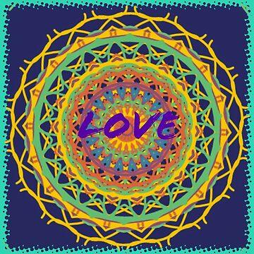 Love Mandala by WakefulNotions