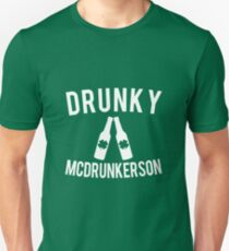 Drunky McDrunkerson St. Patricks Slim Fit T-Shirt