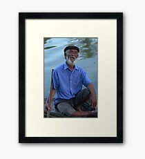 Simple happiness Framed Print