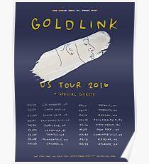 Goldlink U.S. Tour Poster Poster