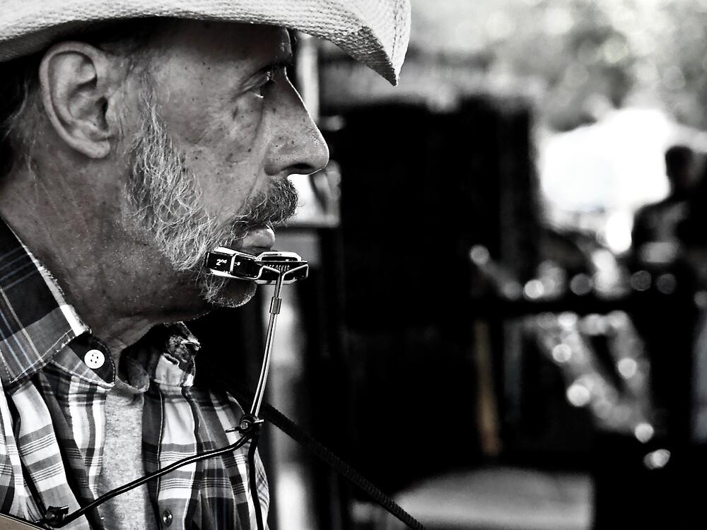 Music man by Jaime de la Cruz