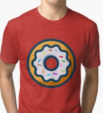 Sprinkled Donut Tri-blend T-Shirt
