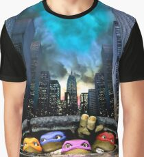 Sewer Turtles 1990 Graphic T-Shirt