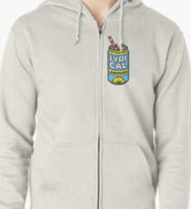 Lycrical Limonade 100% Real Music Zipped Hoodie