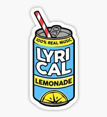 Lycrical Limonade 100% Real Music Sticker