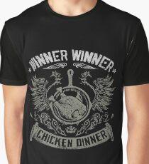 PUBG Winner Winner Chicken Dinner Pioneer Shirt Graphic T-Shirt